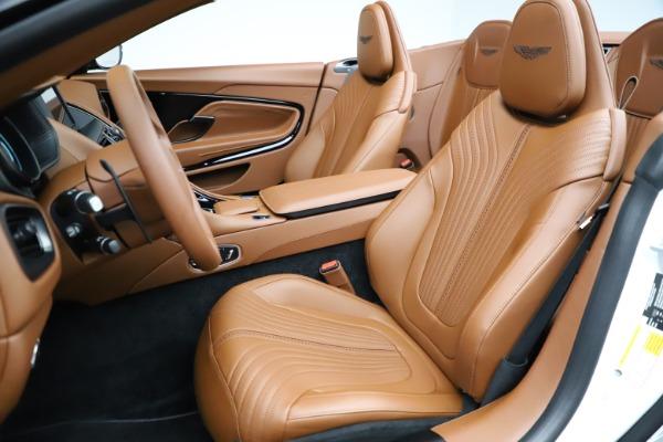 New 2021 Aston Martin DB11 Volante for sale $269,486 at Aston Martin of Greenwich in Greenwich CT 06830 21