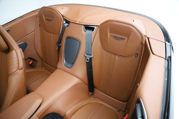 New 2021 Aston Martin DB11 Volante for sale $269,486 at Aston Martin of Greenwich in Greenwich CT 06830 23