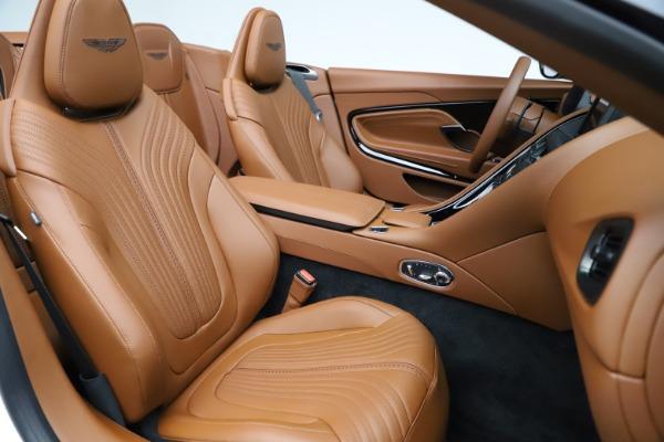 New 2021 Aston Martin DB11 Volante for sale $269,486 at Aston Martin of Greenwich in Greenwich CT 06830 25