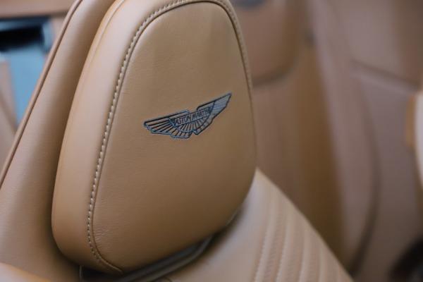 New 2021 Aston Martin DB11 Volante for sale $269,486 at Aston Martin of Greenwich in Greenwich CT 06830 26
