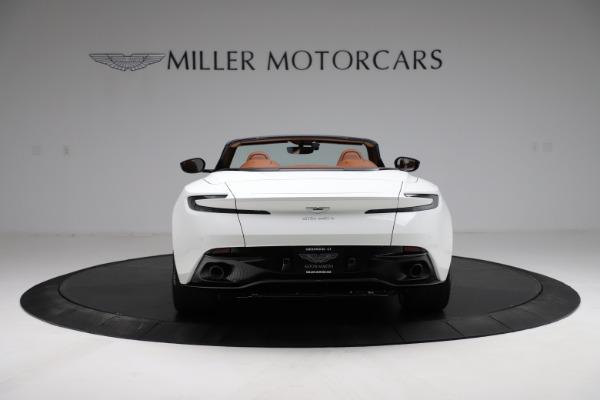 New 2021 Aston Martin DB11 Volante for sale $269,486 at Aston Martin of Greenwich in Greenwich CT 06830 5