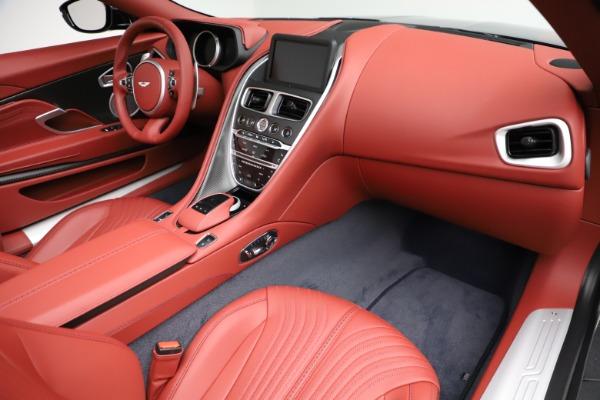 New 2021 Aston Martin DB11 Volante Convertible for sale $261,486 at Aston Martin of Greenwich in Greenwich CT 06830 20