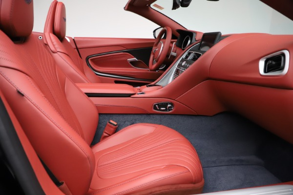 New 2021 Aston Martin DB11 Volante Convertible for sale $261,486 at Aston Martin of Greenwich in Greenwich CT 06830 21