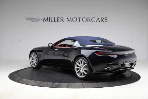 New 2021 Aston Martin DB11 Volante Convertible for sale $261,486 at Aston Martin of Greenwich in Greenwich CT 06830 27