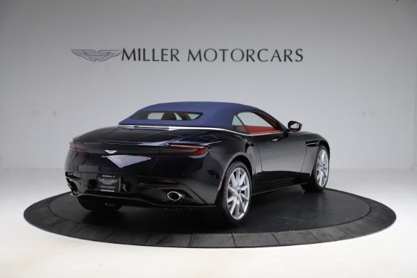 New 2021 Aston Martin DB11 Volante Convertible for sale $261,486 at Aston Martin of Greenwich in Greenwich CT 06830 28