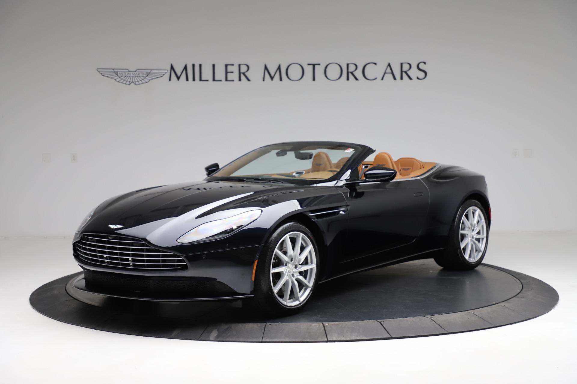 New 2021 Aston Martin DB11 Volante Convertible for sale $265,186 at Aston Martin of Greenwich in Greenwich CT 06830 1