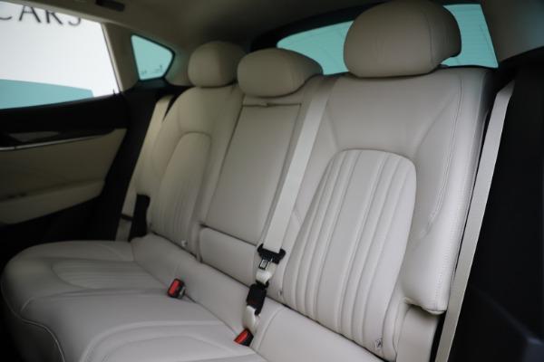 New 2021 Maserati Levante S Q4 GranLusso for sale Sold at Aston Martin of Greenwich in Greenwich CT 06830 20
