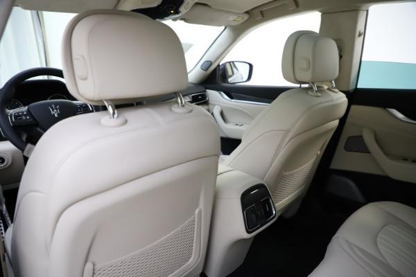 New 2021 Maserati Levante S Q4 GranLusso for sale Sold at Aston Martin of Greenwich in Greenwich CT 06830 22
