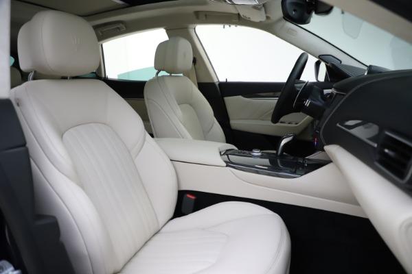New 2021 Maserati Levante S Q4 GranLusso for sale Sold at Aston Martin of Greenwich in Greenwich CT 06830 23