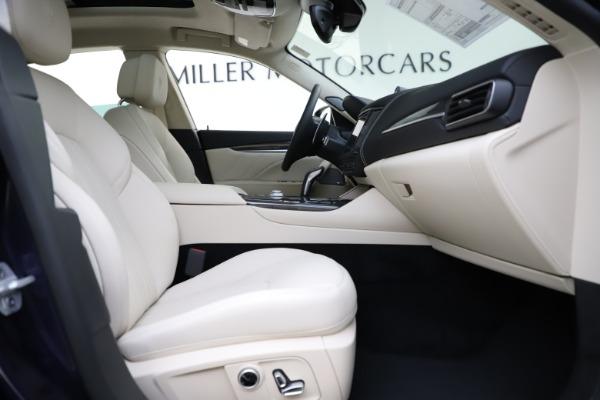New 2021 Maserati Levante S Q4 GranLusso for sale Sold at Aston Martin of Greenwich in Greenwich CT 06830 24