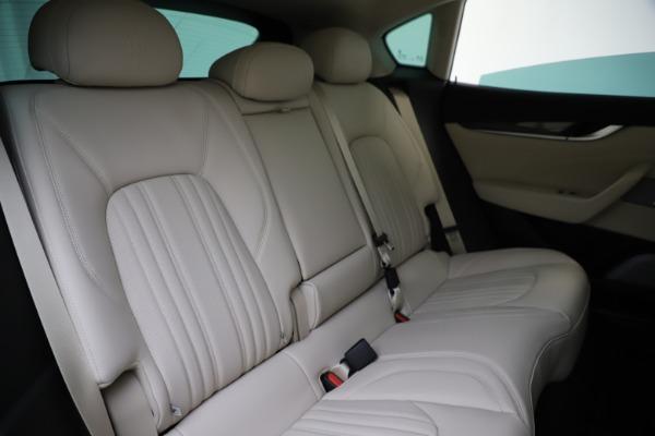 New 2021 Maserati Levante S Q4 GranLusso for sale Sold at Aston Martin of Greenwich in Greenwich CT 06830 26