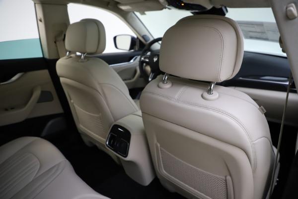 New 2021 Maserati Levante S Q4 GranLusso for sale Sold at Aston Martin of Greenwich in Greenwich CT 06830 28