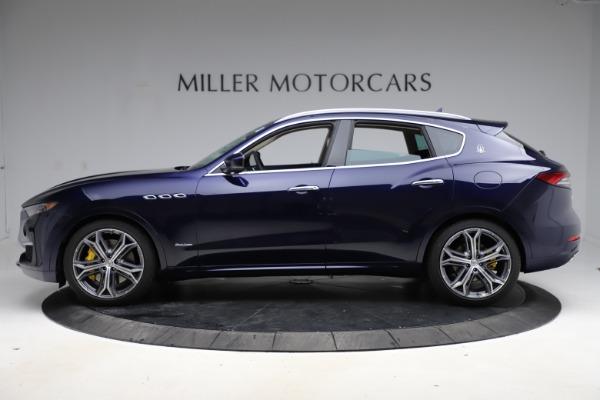 New 2021 Maserati Levante S Q4 GranLusso for sale Sold at Aston Martin of Greenwich in Greenwich CT 06830 3