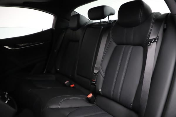 New 2021 Maserati Ghibli S Q4 GranSport for sale $98,125 at Aston Martin of Greenwich in Greenwich CT 06830 20