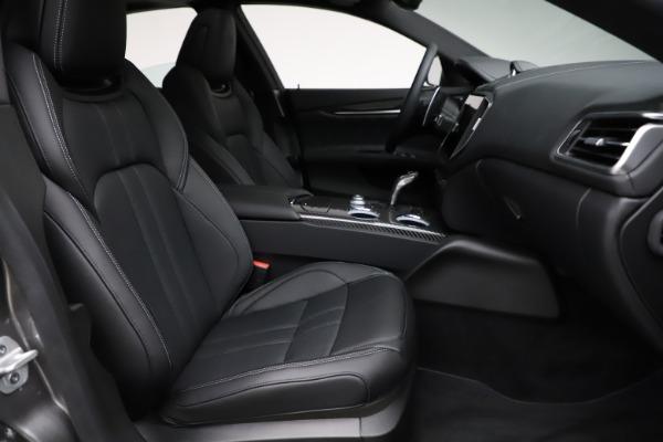 New 2021 Maserati Ghibli S Q4 GranSport for sale $98,125 at Aston Martin of Greenwich in Greenwich CT 06830 23