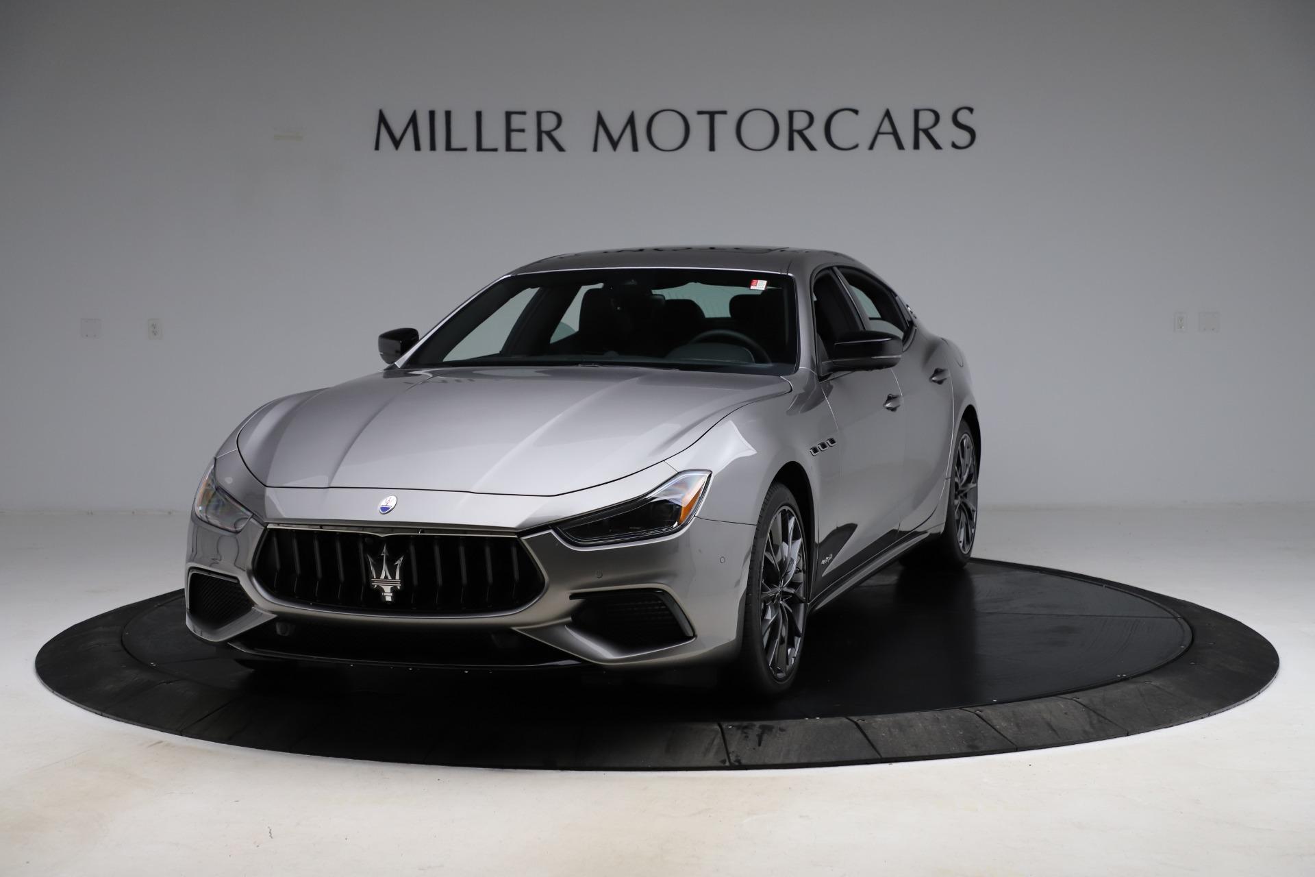 New 2021 Maserati Ghibli S Q4 GranSport for sale $98,125 at Aston Martin of Greenwich in Greenwich CT 06830 1