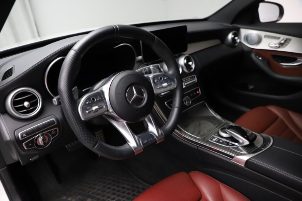 Used 2019 Mercedes-Benz C-Class AMG C 43 for sale $51,900 at Aston Martin of Greenwich in Greenwich CT 06830 14