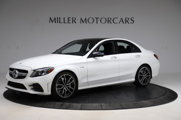 Used 2019 Mercedes-Benz C-Class AMG C 43 for sale $51,900 at Aston Martin of Greenwich in Greenwich CT 06830 2