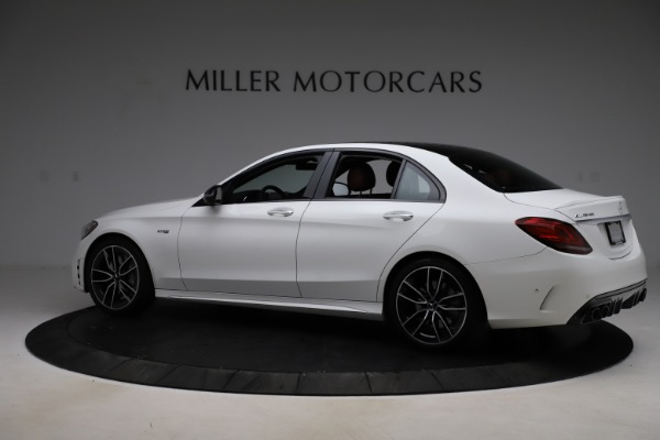 Used 2019 Mercedes-Benz C-Class AMG C 43 for sale $51,900 at Aston Martin of Greenwich in Greenwich CT 06830 5