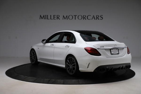 Used 2019 Mercedes-Benz C-Class AMG C 43 for sale $51,900 at Aston Martin of Greenwich in Greenwich CT 06830 6