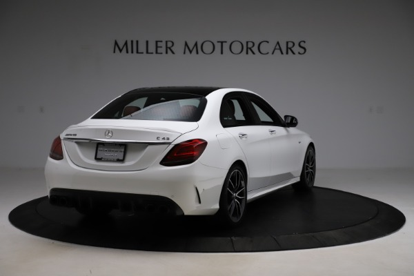 Used 2019 Mercedes-Benz C-Class AMG C 43 for sale $51,900 at Aston Martin of Greenwich in Greenwich CT 06830 8