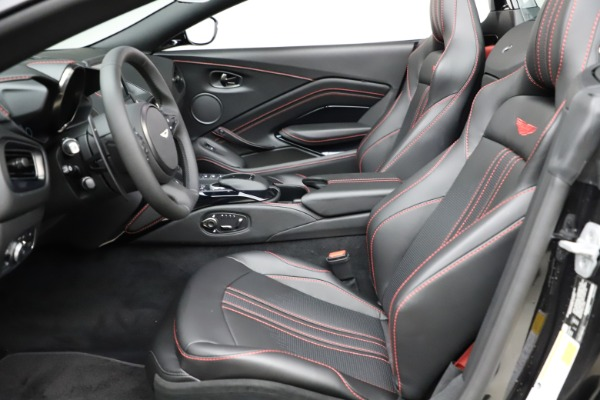New 2021 Aston Martin Vantage Roadster Convertible for sale $189,186 at Aston Martin of Greenwich in Greenwich CT 06830 14