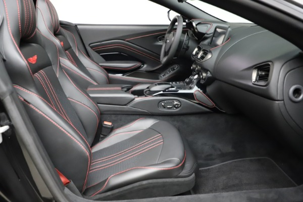 New 2021 Aston Martin Vantage Roadster Convertible for sale $189,186 at Aston Martin of Greenwich in Greenwich CT 06830 19