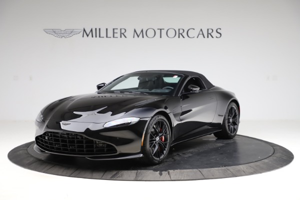 New 2021 Aston Martin Vantage Roadster Convertible for sale $189,186 at Aston Martin of Greenwich in Greenwich CT 06830 27
