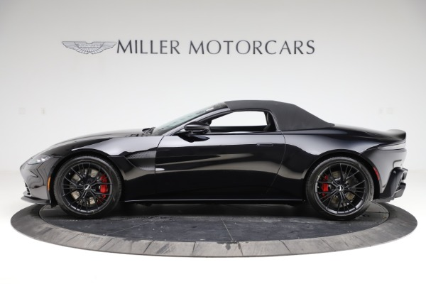 New 2021 Aston Martin Vantage Roadster Convertible for sale $189,186 at Aston Martin of Greenwich in Greenwich CT 06830 28