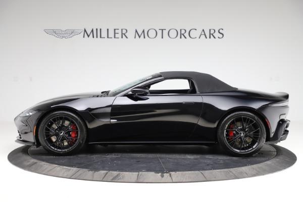New 2021 Aston Martin Vantage Roadster for sale Sold at Aston Martin of Greenwich in Greenwich CT 06830 28