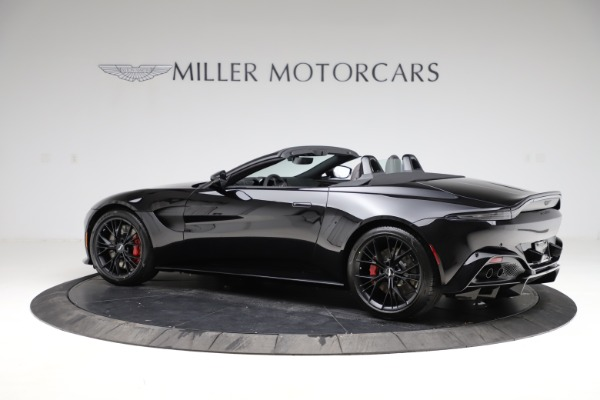 New 2021 Aston Martin Vantage Roadster for sale Sold at Aston Martin of Greenwich in Greenwich CT 06830 3