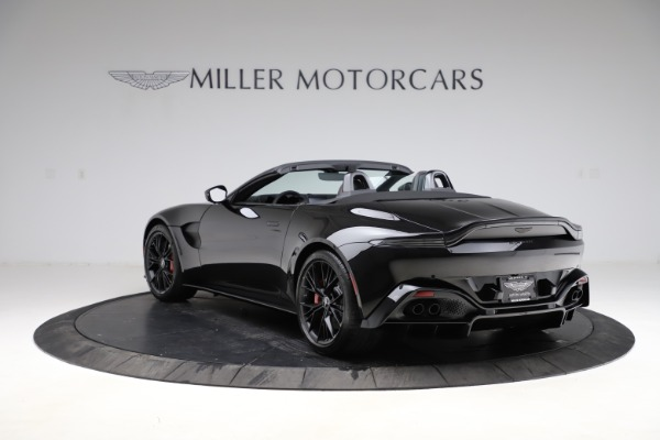 New 2021 Aston Martin Vantage Roadster Convertible for sale $189,186 at Aston Martin of Greenwich in Greenwich CT 06830 4