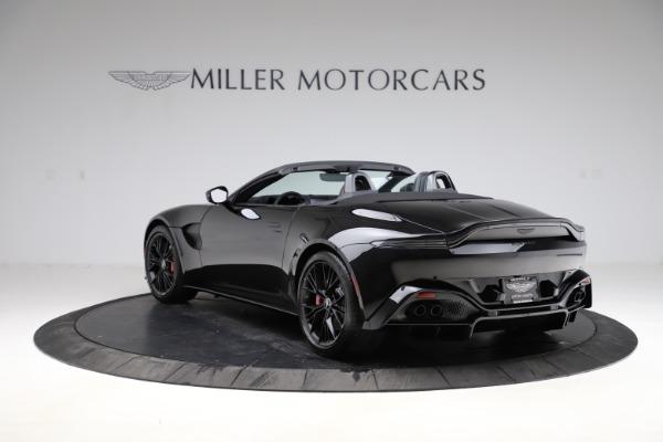 New 2021 Aston Martin Vantage Roadster for sale Sold at Aston Martin of Greenwich in Greenwich CT 06830 4