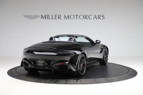 New 2021 Aston Martin Vantage Roadster for sale Sold at Aston Martin of Greenwich in Greenwich CT 06830 6