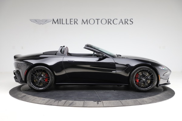 New 2021 Aston Martin Vantage Roadster Convertible for sale $189,186 at Aston Martin of Greenwich in Greenwich CT 06830 8