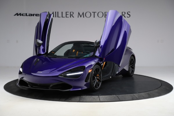 Used 2020 McLaren 720S Spider for sale $324,990 at Aston Martin of Greenwich in Greenwich CT 06830 19