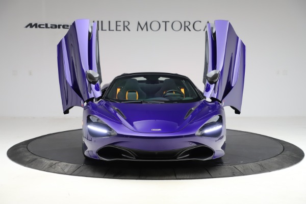 Used 2020 McLaren 720S Spider Performance for sale $324,990 at Aston Martin of Greenwich in Greenwich CT 06830 20