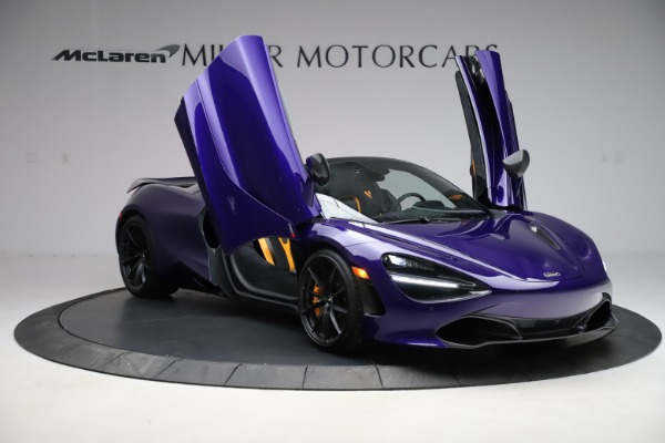 Used 2020 McLaren 720S Spider Performance for sale $324,990 at Aston Martin of Greenwich in Greenwich CT 06830 21