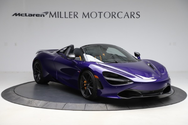 Used 2020 McLaren 720S Spider Performance for sale $324,990 at Aston Martin of Greenwich in Greenwich CT 06830 4
