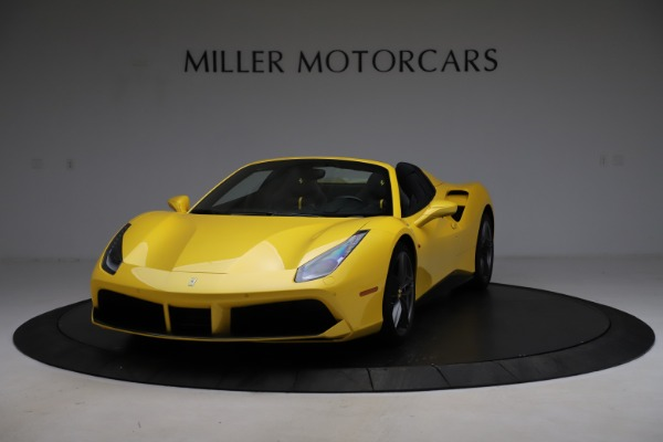 Used 2018 Ferrari 488 Spider for sale Sold at Aston Martin of Greenwich in Greenwich CT 06830 1