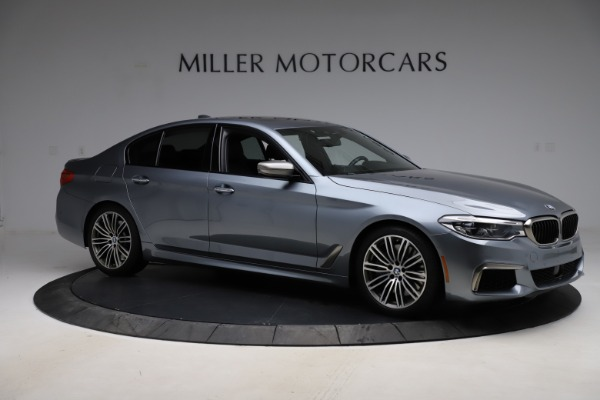 Used 2018 BMW 5 Series M550i xDrive for sale $49,900 at Aston Martin of Greenwich in Greenwich CT 06830 10