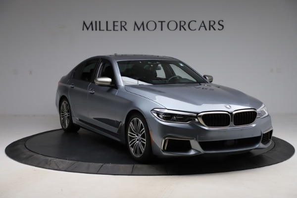 Used 2018 BMW 5 Series M550i xDrive for sale $49,900 at Aston Martin of Greenwich in Greenwich CT 06830 11