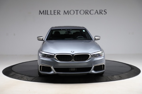 Used 2018 BMW 5 Series M550i xDrive for sale $49,900 at Aston Martin of Greenwich in Greenwich CT 06830 12