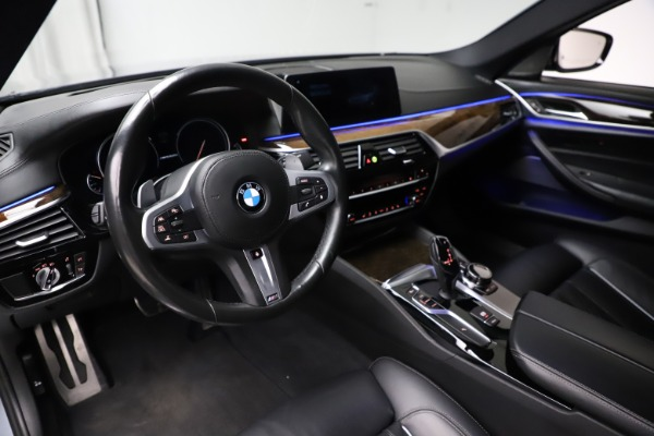 Used 2018 BMW 5 Series M550i xDrive for sale $49,900 at Aston Martin of Greenwich in Greenwich CT 06830 13