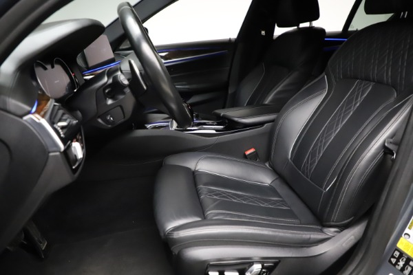 Used 2018 BMW 5 Series M550i xDrive for sale $49,900 at Aston Martin of Greenwich in Greenwich CT 06830 14