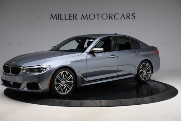 Used 2018 BMW 5 Series M550i xDrive for sale $49,900 at Aston Martin of Greenwich in Greenwich CT 06830 2