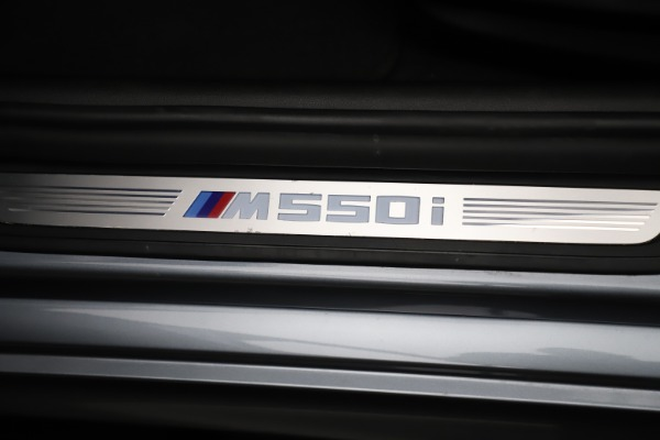 Used 2018 BMW 5 Series M550i xDrive for sale $49,900 at Aston Martin of Greenwich in Greenwich CT 06830 24