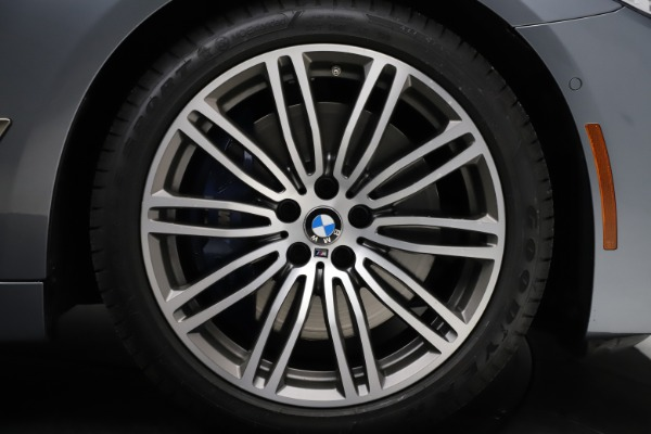 Used 2018 BMW 5 Series M550i xDrive for sale $49,900 at Aston Martin of Greenwich in Greenwich CT 06830 26