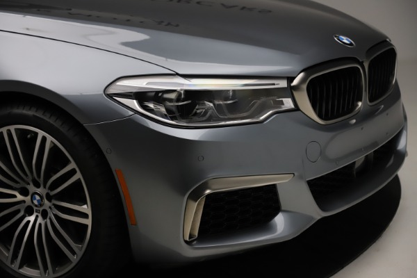 Used 2018 BMW 5 Series M550i xDrive for sale $49,900 at Aston Martin of Greenwich in Greenwich CT 06830 28