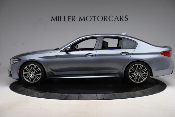 Used 2018 BMW 5 Series M550i xDrive for sale $49,900 at Aston Martin of Greenwich in Greenwich CT 06830 3